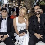 Pamela Anderson attended the U*NITE fashion show in Cannes